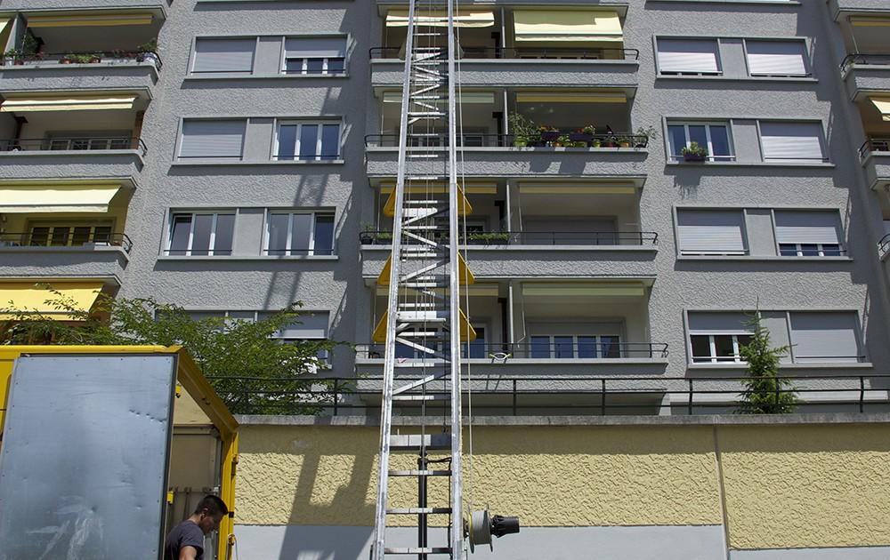 Déménagements pour particuliers en immeubles haut étage