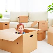 Comment déménager avec toute la famille