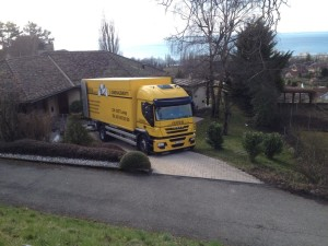 Camion Eureka Déménagement international
