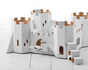 un château en carton
