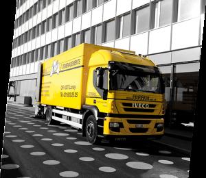 Déménagement camion entreprises Eureka