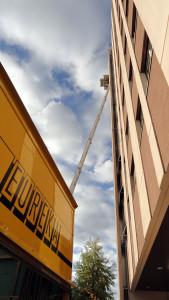 Eurêka déménagements - Louer un Lift pour atteindre le onzième étage de votre immeuble